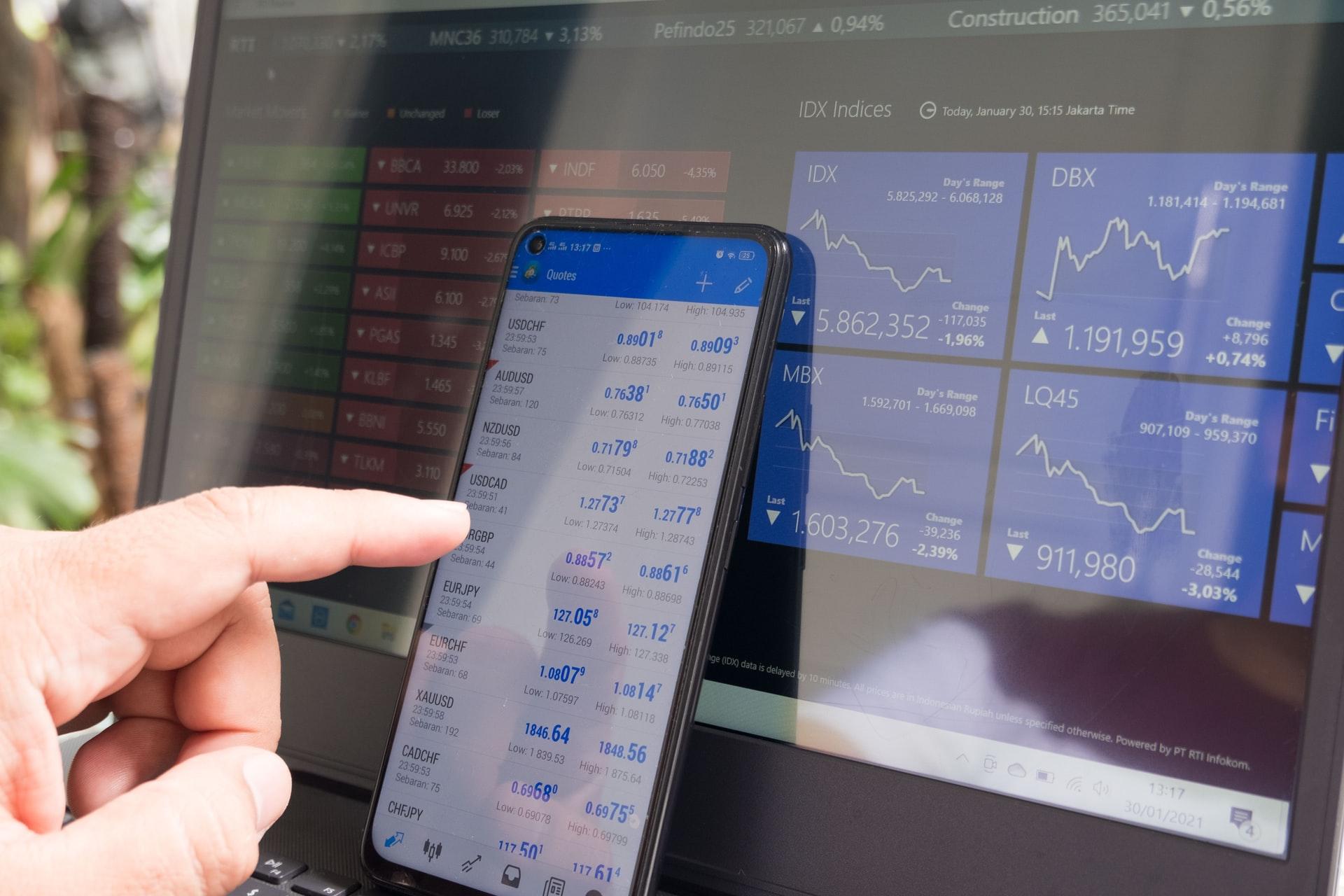 Der Forex-Handel direkt auf dem Smartphone